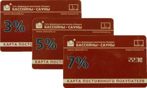 Дисконтные карты фирмы НОВУМ